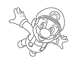 printable super mario coloring pages coloring