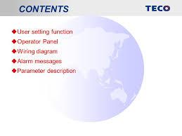 teco servo drives jsda series parameter description ppt download