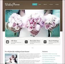 wedding planner websites 10 top wedding website templates for your best moments