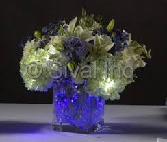 flower arrangements with lights submersible floralytes