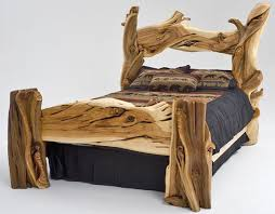 log bedroom furniture cabin furniture log bed juniper slabs brances