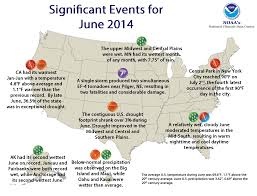 Weather Map New England by National Climate Report June 2014 State Of The Climate