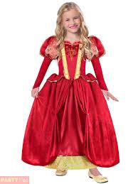 Tudor Halloween Costumes Girls Deluxe Tudor Princess Costume Childrens Historical Fancy