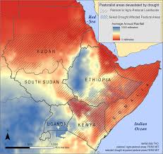 Horn Of Africa Map by Food Security In The Horn Of Africa The Implications Of A Drier