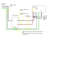 broan exhaust fan with light bathroom fan and light switch wiring diagram bathroom designs