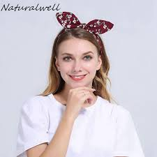 headbands for women naturalwell bendable twist top knot headband with wire inside wome