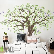 Nursery Tree Wall Decal Modern Baby Nursery Wall Decal Tree Branches Decor Vinyl Tree