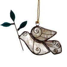 ornaments linden leaf gifts fair trade and eco friendly