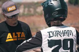 bell red bull motocross helmet watch darryn durham sx testing the alta redshift mx racer x online