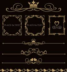 ornament border vector free vector 14 104 free vector
