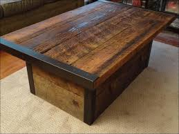 Rustic Coffee Tables With Storage - living room magnificent rustic coffee and end tables reclaimed