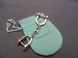 key rings tiffany images Vintage tiffany co ny sterling silver double shackle valet key jpg