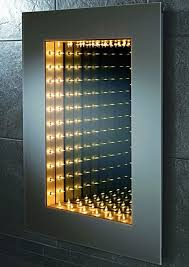 Bathroom Mirrors With Lights by Unique Gorgeous And Perfect Infinity Mirror Design With Light