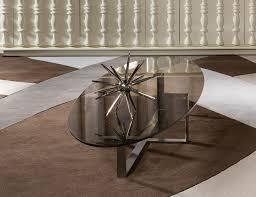 streamlined hop frog italian designer stainless steel coffee table