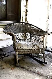 Porch Chair Old Porch Chair Everyone Sits Outside After Nine O U0027clock At Night