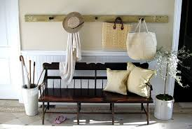 front entry bench entry traditional with wood bench coat hanger