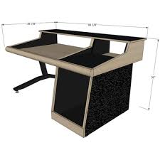 How To Build A Recording Studio Desk by Sound Construction Gsr24s 1 1 Straight Studio Desk For Allen And
