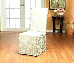 pier 1 chair slipcovers back dining chair slipcovers ilovefitness