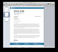 Resume Templates For Mac Also by Modern Resume Template Mactemplates Com