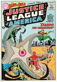 Justice League of America's debut comic