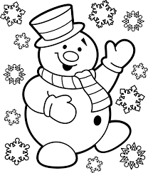 clipart christmas snowman