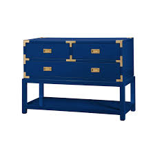 Blue Console Table Tansu Console Table Navy Blue Bungalow 5