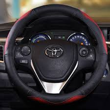 toyota corolla steering wheel cover popular genuine leather steering wheel cover toyota yaris buy