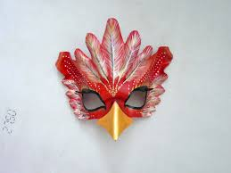 crow mask halloween phoenix bird mask masquerade mask firebird mask costume
