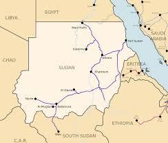R Train Map Railway Stations In Sudan Wikipedia
