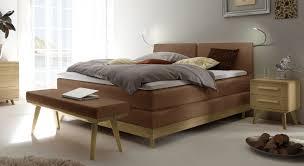 Komplett Schlafzimmer Mit Boxspringbett Mid Century Bett Als Komplett Boxspringbett Binga