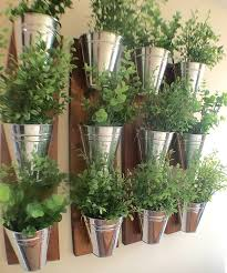 amazon com indoor wall planter wood grain home u0026 kitchen