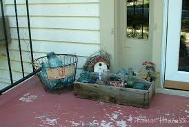 decorating your front porch hoosier homemade