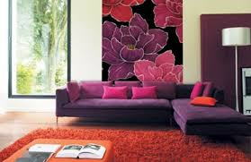 ombre pink living room contemporary wall murals prints blog wall murals living room pink image permalink