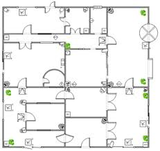 Warehouse Floor Plan Template Security And Access Plan Floor Plan Solutions