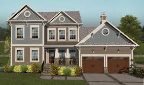 Southern Farmhouse Plans Craftsman Home With A Hideaway And A Sports Court 20123ga