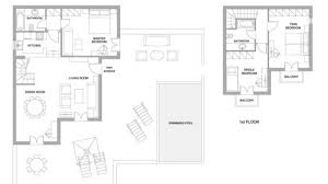 villa ruby four bedroom santa marina resort mykonos luxury hotel download floor plan