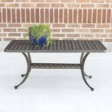 Wicker Style Outdoor Furniture by Walker Edison Patio Furniture Cast Aluminum Wicker Style Patio