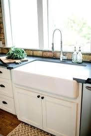 drop in farmhouse sink drop in apron front sink drop in farmhouse kitchen sinks and kitchen