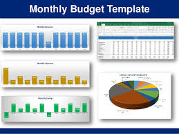 simple monthly budget template in excel by ex deloitte