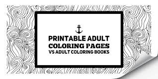 printable coloring pages vs coloring books art