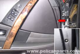 bmw e60 5 series front door panel replacement 2003 2010
