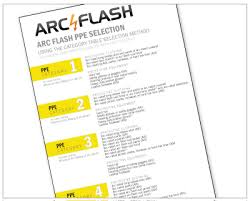 nfpa 70e arc flash table nfpa 70e ppe selection rjs engineering nfpa 70e arc flash