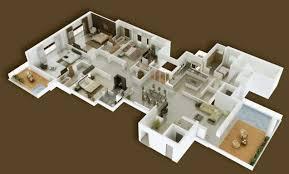 cheap 4 bedroom houses 50 four u201c4 u201d bedroom apartment house plans ideachannels