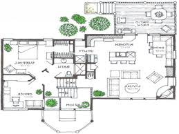 split level open floor plan house plans split level home floor homes zone modern diagram scott