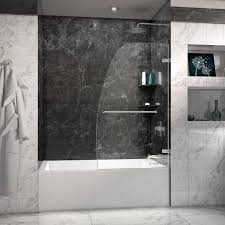 bathroom exciting kohler shower doors for your bathroom design elegant marble wall with kohler shower doors and