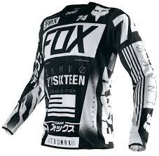 ufo motocross gear fox motorcycles fox flexair union jersey jerseys u0026 pants