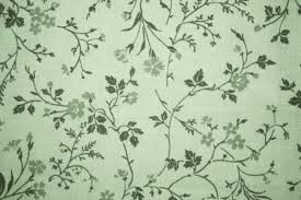 Sage Color by Sage Green Floral Print Fabric Texture Picture Free Photograph