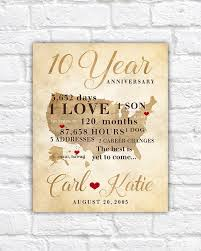 10 year anniversary gift ideas for husband best 25 10th anniversary gifts ideas on 10 year