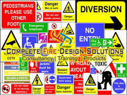 safety signage and posters