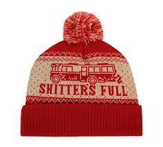 Shitters Full Meme - christmas vacation shitter s full beanie ugly christmas sweaters